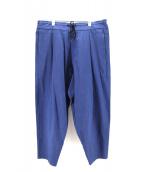 YANTOR(ヤントル)の古着「コットンパンツ」|ブルー