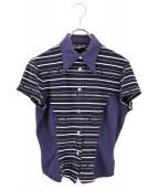 FENDI(フェンディ)の古着「ポロシャツ」|ネイビー