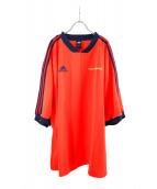 Gosha Rubchinskiy×adidas(ゴーシャ・ラブチンスキー×アディダス)の古着「Soccer Jersey」|レッド