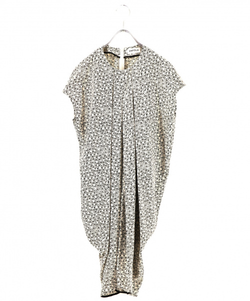 ENFOLD(エンフォルド)ENFOLD (エンフォルド) ブラウスワンピース ホワイト サイズ:38 夏物の古着・服飾アイテム