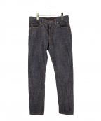 STABILIZER GNZ(スタビライザージーンズ)の古着「14ozデニムパンツ」|インディゴ