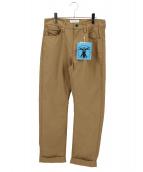 Hombre Nino(オンブレニーニョ)の古着「Ripstop 5 Pocket Pants」|ベージュ
