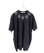 GIVENCHY(ジバンシィ)の古着「スタープリントTシャツ」 ブラック