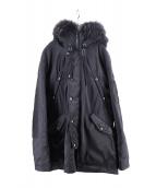 TATRAS(タトラス)の古着「N3-Bダウンコート」|ブラック