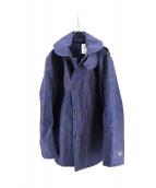 ORCIVAL(オーチバル)の古着「cotton bonding coat」|インディゴ