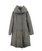 M-premier(エムプルミエ)の古着「ダウンコート」|グリーン
