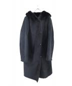BEAMS Lights(ビームスライツ)の古着「Fムートンフードコート」|ブラック