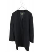 HERNO(ヘルノ)の古着「フロントボタンワンピース」|ブラック