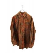 KENZO(ケンゾー)の古着「ペイズリー柄シャツ」|ベージュ