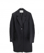 PERVERZE(パーバーズ)の古着「ロングコート」|ブラック