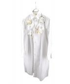 TAO COMME des GARCONS(タオ コムデギャルソン)の古着「シャツワンピース」|ホワイト
