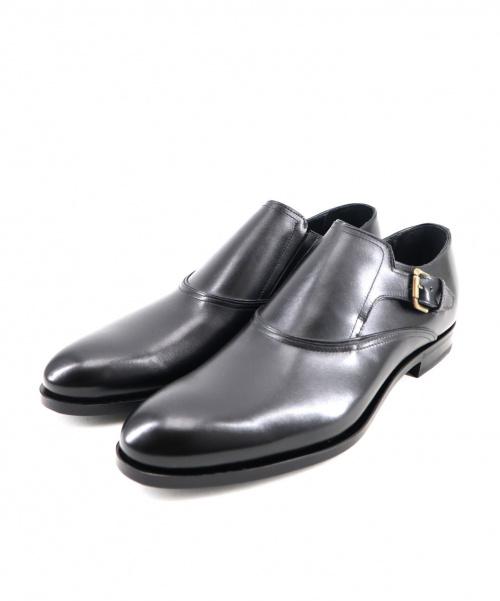 ANTONIO MAURIZI(アントニオ マウリッツィ)ANTONIO MAURIZI (アントニオ マウリッツィ) モンクストラップシューズ ブラック サイズ:42の古着・服飾アイテム