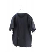 TEATORA(テアトラ)の古着「LAPTOP TEE packable」 ブラック