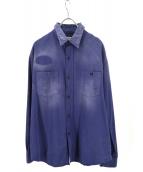 LEVIS(リーバイス)の古着「1950sヴィンテージ加工ワークシャツ」|ネイビー