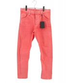 DSQUARED2(ディースクエアード)の古着「加工デニムパンツ」|ピンク