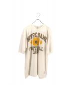 Champion(チャンピオン)の古着「[古着]ヴィンテージフットボールシャツ」|ホワイト