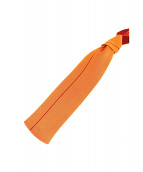 HERMES(エルメス)の古着「シルクニットタイ」|オレンジ×ブラウン