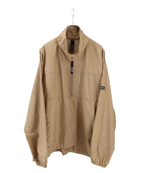 SILAS(サイラス)SILAS (サイラス) HALF ZIP UP BLOUSON ベージュ×ブラック サイズ:Mの古着・服飾アイテム