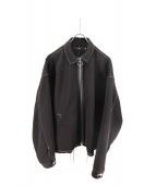 Vaporize(ヴェイパライズ)の古着「Stitch Zip Blouson」 ブラック