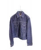 SCYEBASICS(サイベーシックス)の古着「デニムトラッカージャケット」|ブルー
