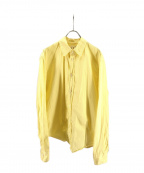 Frank&Eileen(フランクアンドアイリーン)の古着「ストライプシャツ」 イエロー