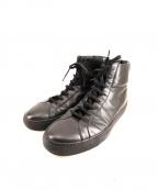 COMMON PROJECTS(コモンプロジェクツ)の古着「ハイカットスニーカー」|ブラック