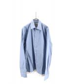 KOLOR(カラー)の古着「配色ブロードシャツ」|サックスブルー