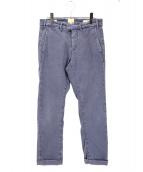 tramarossa(トラマロッサ)の古着「スーパーストレッチトラウザー」|ブルー