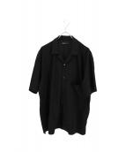 08sircus(08サーカス)の古着「オープンカラーシャツ」|ブラック