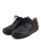 Pantofola dOro(パントフォラドーロ)の古着「ウィングチップスニーカー」|ブラック