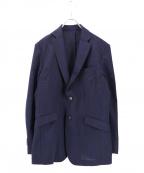 ABAHOUSE(アバハウス)の古着「COOLMAX 2Bジャケット」|ネイビー