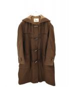 PAPAS(パパス)の古着「ダッフルコート」|ブラウン