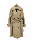 ROPE(ロペ)の古着「中綿ライナー付トレンチコート」|ベージュ