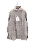 ANGLAIS(アングレー)の古着「リネンシャツ」|ベージュ