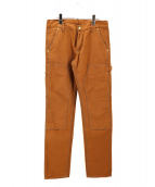 A.P.C. × Carhartt(アーペーセー × カーハート)の古着「NEW STANDARD DOUBLE KNEE PANT」|ブラウン