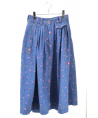 MARC JACOBS(マークジェイコブス)の古着「THE FOUND SKIRT」|ブルー