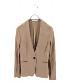 BEIGE(ベイジ)の古着「カラーレスジャケット」|ベージュ