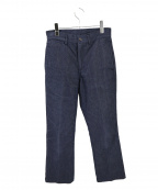 STABILIZER GNZ(スタビライザージーンズ)の古着「FLARE LEG TROUSERS」|インディゴ