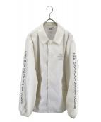 CRIMIE(クライミー)の古着「コーチジャケット」|ホワイト