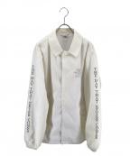 CRIMIE(クライミー)の古着「コーチジャケット」 ホワイト