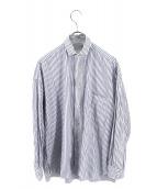 TICCA(ティッカ)の古着「ストライプシャツ」|ホワイト×ブルー