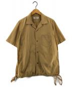()の古着「サイドスリットシャツ」|ベージュ