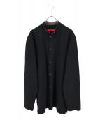 YS for men(ワイズフォーメン)の古着「バンドカラーシャツ」|ブラック