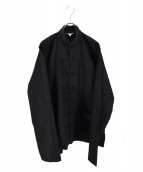 -(-)の古着「フレンチチャイナジャケット」|ブラック