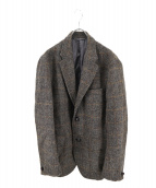 Eddie Bauer(エディバウアー)の古着「ハリスツイードジャケット」|ブラウン