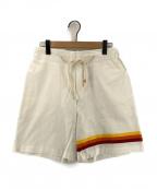 THE SILTED COMPANY(ザシルテッッドカンパニー)の古着「ハーフパンツ」|ホワイト