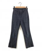 STABILIZER gnz(スタビライザージーンズ)の古着「センタープレスデニムパンツ」|インディゴ