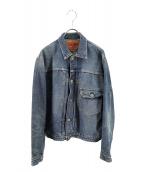 DENIME(ドゥニーム)の古着「1STタイプデニムジャケット」|ブルー