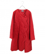 TOKUKO1erVOL(トクコプルミエヴォル)の古着「キルティング中綿コート」 レッド