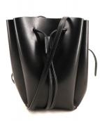 YAHKI(ヤーキ)の古着「巾着ショルダーバッグ」|ブラック